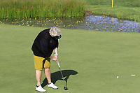 Laura Davies (ENG) putts on 16th green during Thursday's Round 1 of The Evian Championship 2018, held at the Evian Resort Golf Club, Evian-les-Bains, France. 13th September 2018.<br /> Picture: Eoin Clarke | Golffile<br /> <br /> <br /> All photos usage must carry mandatory copyright credit (© Golffile | Eoin Clarke)