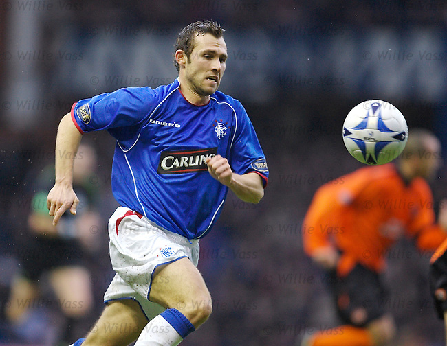 Thomas Buffel, Rangers.stock season 2005-2006.pic willie vass