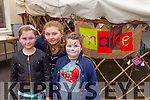 Sarah Jayne O'Sullivan, Laura Ashley O'Sullivan and Eliza Mai O'Sullivan  at the  Tralee Food Festival in the town Square on Saturday were