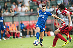 Leicester City FC forward Tom Lawrence (L) in action during the Premier League Asia Trophy match between Leicester City FC and West Bromwich Albion at Hong Kong Stadium on 19 July 2017, in Hong Kong, China. Photo by Weixiang Lim / Power Sport Images