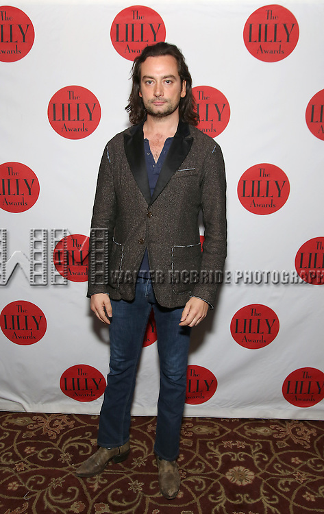 Constantine Maroulis attends The Lilly Awards Broadway Cabaret at the Cutting Room on October 17, 2016 in New York City.