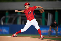 Williamsport Crosscutters starting pitcher Spencer Howard (29) delivers a pitch during a game against the Mahoning Valley Scrappers on July 8, 2017 at BB&T Ballpark at Historic Bowman Field in Williamsport, Pennsylvania.  Williamsport defeated Mahoning Valley 6-1.  (Mike Janes/Four Seam Images)