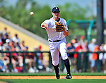9 March 2012: Detroit Tigers infielder Don Kelly in action during a Spring Training game against the Philadelphia Phillies at Joker Marchant Stadium in Lakeland, Florida. The Phillies defeated the Tigers 7-5 in Grapefruit League action. Mandatory Credit: Ed Wolfstein Photo