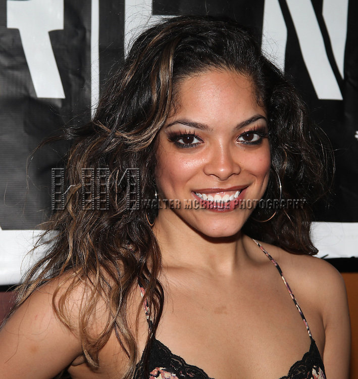 Arianda Fernandez.attending the Off-Broadway Opening Night After Party for 'RENT' at Glass House Tavern in New York City....