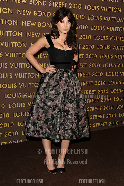 Model, Daisy Lowe.arrives for the Louis Vuitton New Bond Street store opening party at the Old Sorting Office, London. 25/05/2010  Picture by Steve Vas/Featureflash
