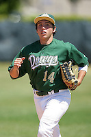 April 7, 2010: Cameron Saylor of South Hills High School during National Classic Tournament in Anaheim,CA.  Photo by Larry Goren/Four Seam Images