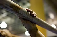 Belo Horizonte_MG, Brasil..Barras paralelas para treinamento de Ginastica Olimpica no Minas Tenis Clube em Belo Horizonte, Minas Gerais...Parallel bars Gymnastics for training at Minas Tenis Club in Belo Horizonte, Minas Gerais... Foto: BRUNO MAGALHAES / NITRO