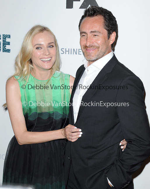 Diane Kruger and Demian Bichir  at The red carpet event for The FX Series The Bridge held at The DGA in West Hollywood, California on July 22,2021                                                                   Copyright 2013 Hollywood Press Agency