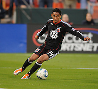 DC United midfielder Andy Najar (14)  DC United defeated The Seattle Sounders 2-1 at  RFK Stadium, Wednesday May 4, 2011.