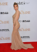 Kara Del Toro at the premiere for &quot;The Promise&quot; at the TCL Chinese Theatre, Hollywood. Los Angeles, USA 12 April  2017<br /> Picture: Paul Smith/Featureflash/SilverHub 0208 004 5359 sales@silverhubmedia.com