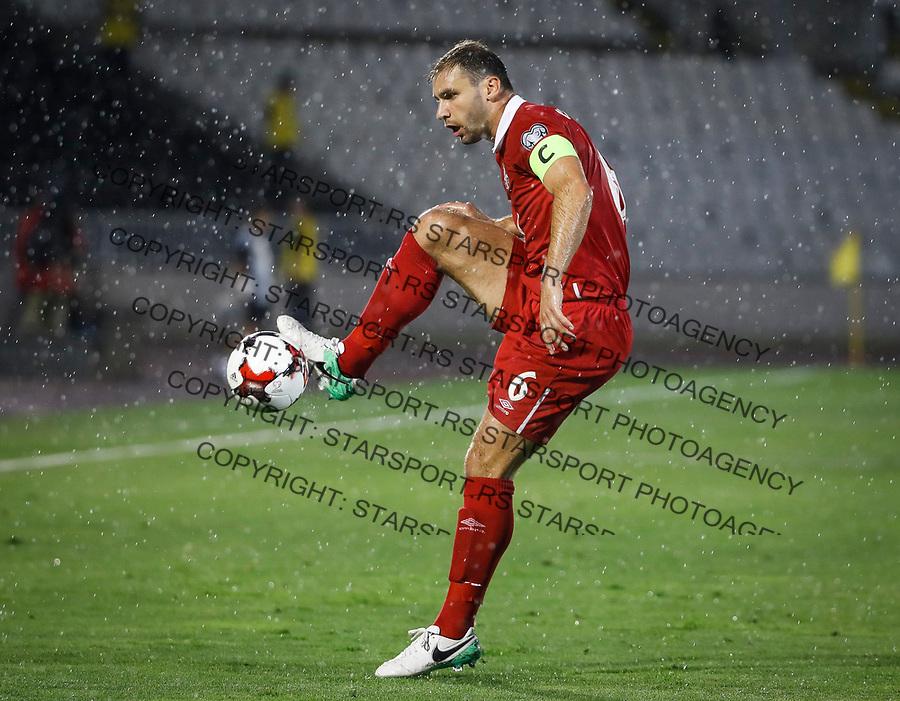 Fudbalski Savez Srbije<br /> Kvalifikacije za World Cup FIFA Russia 2018<br /> Srbija v Moldavija<br /> Branislav Ivanovic<br /> Beograd, 02.09.2017.<br /> foto: Srdjan Stevanovic/Starsportphoto &copy;