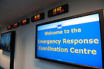 Belgium, Brussels - October 27, 2014 -- EU's Emergency Response Coordination Centre (ERCC) -- Photo © HorstWagner.eu