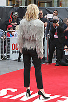 Cate Blanchett attends the European Premiere of Ocean's 8 at Cineworld on Leicester Square in London.<br />
