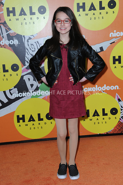 WWW.ACEPIXS.COM<br /> November 14, 2015 New York City<br /> <br /> Julia Antonelli attending the 2015 Nickelodeon HALO Awards at Pier 36 on November 14, 2015 in New York City.<br /> <br /> Credit: Kristin Callahan/ACE<br /> Tel: (646) 769 0430<br /> e-mail: info@acepixs.com<br /> web: http://www.acepixs.com
