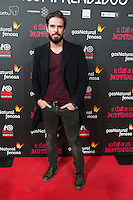"Alex Barahona attend the Premiere of the movie ""El club de los incomprendidos"" at callao Cinema in Madrid, Spain. December 1, 2014. (ALTERPHOTOS/Carlos Dafonte) /NortePhoto<br />