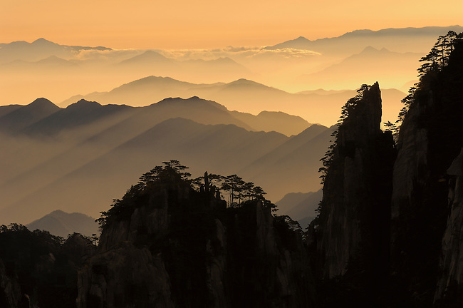 Huangshan Yellow Mountain Scenic Park, China
