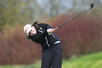 Katie Poots (Knock) during the second round of the Irish Girls' Open Stroke Play Championship, Roganstown Golf Club, Swords, Ireland. 14/04/2018.<br /> Picture: Golffile | Fran Caffrey<br /> <br /> <br /> All photo usage must carry mandatory copyright credit (&copy; Golffile | Fran Caffrey)
