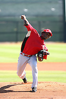 Jose Arredondo - Cincinnati Reds - 2010 Instructional League.Photo by:  Bill Mitchell/Four Seam Images..