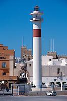 Spanien, Andalusien, Leuchtturm in Rota