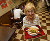 "Celia Mayvbaum, ""Hot Dog Queen"" of the Jersey Shore."
