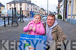 Steve and Millie Dixon Christmas Shopping in Abbeyfeale on Monday