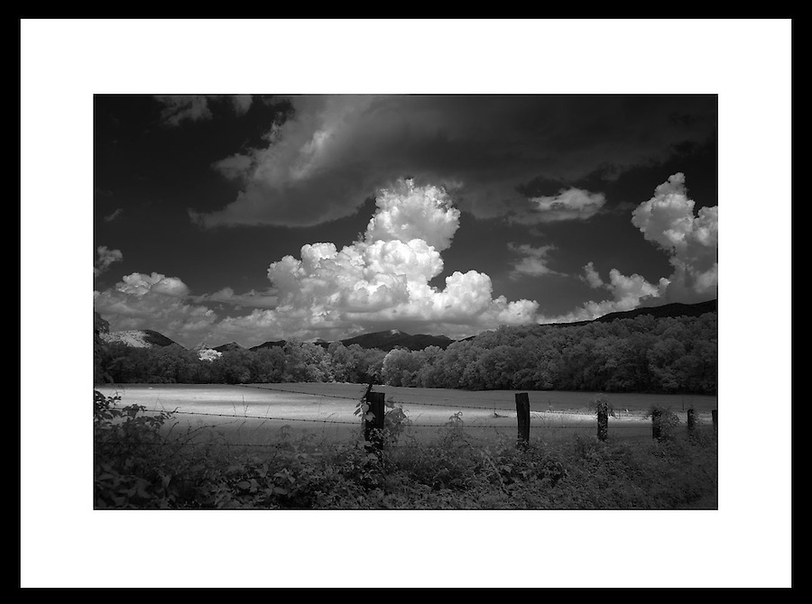 Digital infrared image from Charlottesville and Albemarle County, Virginia. Credit Image: © Andrew Shurtleff