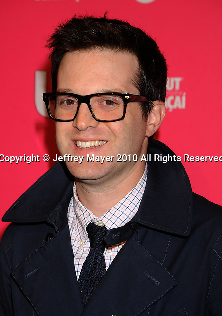 HOLLYWOOD, CA. - April 22: Mayer Hawthorne attends the Us Weekly Hot Hollywood Style Issue Event at Drai's Hollywood on April 22, 2010 in Hollywood, California.