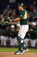 February 27, 2010:  Catcher Eric Sim of the South Florida Bulls during the Big East/Big 10 Challenge at Bright House Field in Clearwater, FL.  Photo By Mike Janes/Four Seam Images