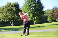 Marc Warren's (SCO) team during Wednesday's Pro-Am of the 2014 Irish Open held at Fota Island Resort, Cork, Ireland. 18th June 2014.<br /> Picture: Eoin Clarke www.golffile.ie