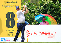 Thomas Bjorn (DEN) in action on the 8th tee during Round 2 of the Maybank Championship at the Saujana Golf and Country Club in Kuala Lumpur on Friday 2nd February 2018.<br /> Picture:  Thos Caffrey / www.golffile.ie<br /> <br /> All photo usage must carry mandatory copyright credit (&copy; Golffile | Thos Caffrey)