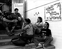 Genova 19 Luglio 2001.G8.Stadio Carlini .
