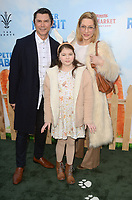 LOS ANGELES, CA - FEBRUARY 03: Lou Diamond Phillips at the premiere of Columbia Pictures' 'Peter Rabbit' at The Grove on February 3, 2018 in Los Angeles, California. <br /> CAP/MPI/DE<br /> &copy;DE//MPI/Capital Pictures