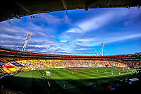A general view of the A-League football match between Wellington Phoenix and Newcastle Jets at Westpac Stadium in Wellington, New Zealand on Sunday, 21 october 2018. Photo: Dave Lintott / lintottphoto.co.nz