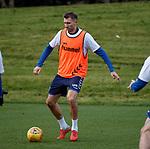 23.11.2018 Rangers training: Gareth McAuley