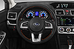 Car pictures of steering wheel view of a 2016 Subaru Crosstrek Hybrid-Touring 5 Door SUV Steering Wheel