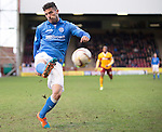 Motherwell v St Johnstone...31.01.15    SPFL<br /> Gary Miller<br /> Picture by Graeme Hart.<br /> Copyright Perthshire Picture Agency<br /> Tel: 01738 623350  Mobile: 07990 594431