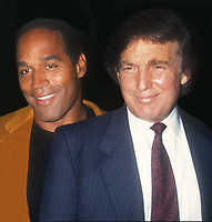 OJ Simpson Donald Trump 1993<br /> Photo By John Barrett/PHOTOlink