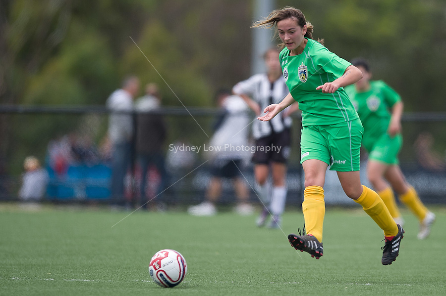 MELBOURNE, AUSTRALIA - Dec 12: Round 8 of the Victorian Champions League between Northeast and Northern U17 Girls at Darebin on 12 December 2010, Australia. (Photo Sydney Low / asteriskimages.com)