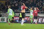 28.01.2018, HDI Arena, Hannover, GER, 1. Bundesliga, Hannover 96 - VfL Wolfsburg, im Bild 0:1 f&uuml;r den VFL Wolfsburg<br /> <br /> Foto &copy; nordphoto / Dominique Leppin