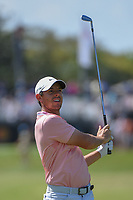 Rory McIlroy (NIR) watches his approach shot on 1 during round 3 of the Arnold Palmer Invitational at Bay Hill Golf Club, Bay Hill, Florida. 3/9/2019.<br /> Picture: Golffile | Ken Murray<br /> <br /> <br /> All photo usage must carry mandatory copyright credit (&copy; Golffile | Ken Murray)