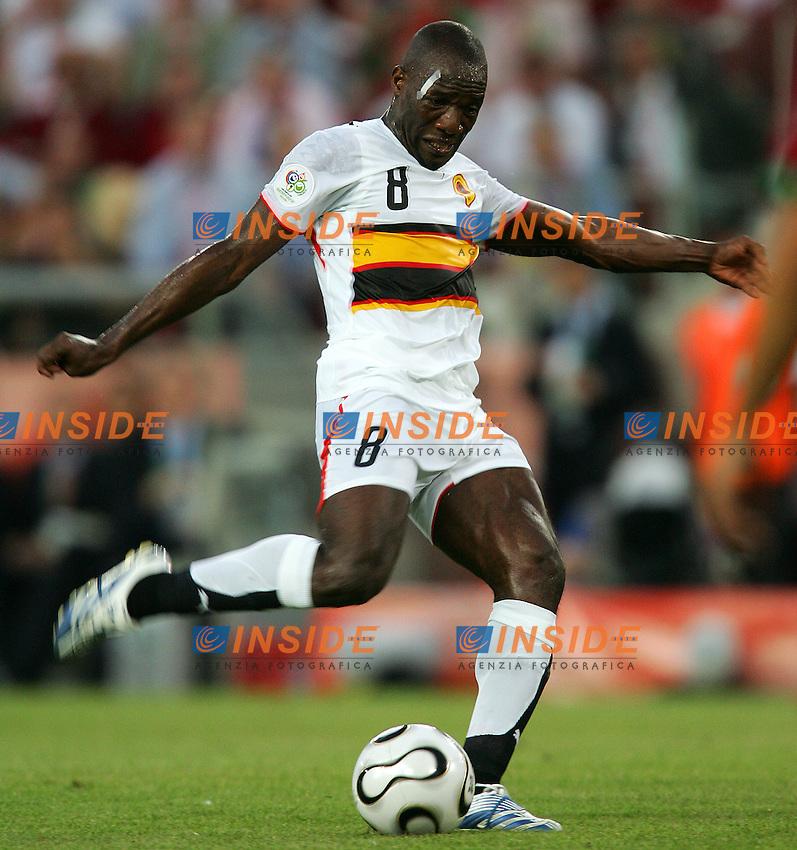 Koln 11/6/2006 World Cup 2006.Angola Portugal - Angola Portogallo 0-1.Photo Andrea Staccioli Insidefoto.Andre Angola