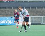 AMSTELVEEN - Floris Middendorp (Adam) tijdens de hoofdklasse competitiewedstrijd mannen, Amsterdam-HCKC (1-0).  COPYRIGHT KOEN SUYK