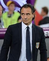 FUSSBALL  EUROPAMEISTERSCHAFT 2012   FINALE Spanien - Italien            01.07.2012 Trainer Cesare Prandelli (Italien)
