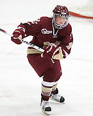 Allie Thunstrom (BC - 9) - The Harvard University Crimson defeated the Boston College Eagles 5-0 in their Beanpot semi-final game on Tuesday, February 2, 2010 at the Bright Hockey Center in Cambridge, Massachusetts.