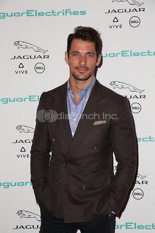 LOS ANGELES, CA - NOVEMBER 14: David Gandy attends the Jaguar For Next Era Vehicle Unveiling Event at Milk Studios on November 14, 2016 in Los Angeles, California. (Credit: Parisa Afsahi/MediaPunch).