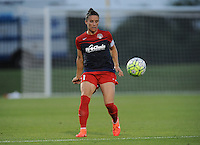 Boyds, MD - Saturday June 25, 2016: Ali Krieger during a United States National Women's Soccer League (NWSL) match between the Washington Spirit and Sky Blue FC at Maureen Hendricks Field, Maryland SoccerPlex.