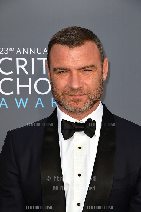 Liev Schreiber at the 23rd Annual Critics' Choice Awards at Barker Hangar, Santa Monica, USA 11 Jan. 2018<br /> Picture: Paul Smith/Featureflash/SilverHub 0208 004 5359 sales@silverhubmedia.com