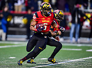 College Park, MD - NOV 11, 2017: Maryland Terrapins running back Ty Johnson (6) in action during game between Maryland and Michigan at Capital One Field at Maryland Stadium in College Park, MD. (Photo by Phil Peters/Media Images International)