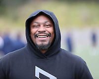 SYDNEY, AUSTRALIA - August 22, 2016:  Cal Bears Football team Australia trip.  Marshawn Lynch visits practice.