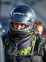 Sep 15, 2017; Concord, NC, USA; NHRA funny car driver Bob Gilbertson during qualifying for the Carolina Nationals at zMax Dragway. Mandatory Credit: Mark J. Rebilas-USA TODAY Sports